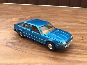 Corgi Toys Rover 3500 Blue In Very Good Condition