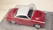 AWZ P70 Coupe Rossa e Bianca - Scala 1:43 - DeAgostini - Nuova