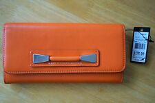 NEW MARC BY MARC JACOBS Classic Q Long Wallet Bag COLOR!!! SPICED ORANGE LEATHER