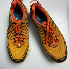 Hoka One One Clifton 4 Running Shoes Orange Mens Size 9