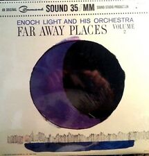 ENOCH LIGHT AND HIS ORCHESTRA LP FAR AWAY PLACES VOL 2  MADE IN USA 1972