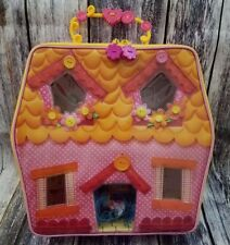 Mini Lalaloopsy Carry-Along Playhouse with Loopy Hair Mittens Fluff 'N' Stuff