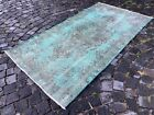 Area rug, Overdyed, Vintage rug, Handmade rug, Wool rug Carpet   3,4 x 6,3 ft