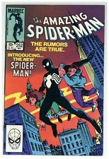 Amazing Spider-Man 252 Marvel Comics 1984 dons new Black Costume! (j#1873)