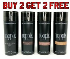 Toppik Hair Building Fibres 27.5g Buy 2 and get 2 more FREE - THATS $7.5 EACH..