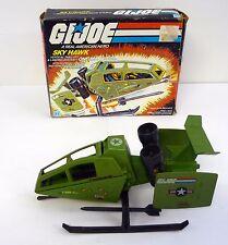 GI JOE SKY HAWK VTOL Vintage Action Figure Vehicle COMPLETE w/BOX 1984