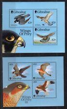 Gibraltar birds souvenir sheet MNH.