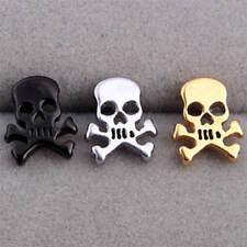 Fashion Jewelry personality Cute Punk Skull Girl Stainless Steel Earrings Stud