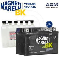 BATTERIA MAGNETI MARELLI YTX9-BS 12V 8Ah SUZUKI AN BURGMAN 400 1998 1999