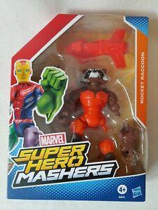 Marvel Super Hero Mashers Rocket Raccoon Hasbro Guardians Galaxy