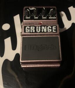 DOD / DIGITECH GRUNGE DISTORTION EFFECTS Nirvana GUITAR FX PEDAL