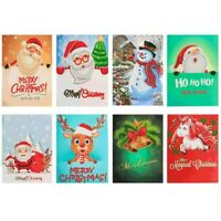 Card Xmas Postcards 5D Greeting Cards Merry Christmas Gifts Diamond Painting