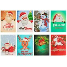 Card Xmas Postcards 5D Greeting Cards Merry Christmas 5D Diamond Painting