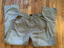New listing Browning Pheasants Forever Embroidered Hunting Field Pants Mens 32 M Upland Duck