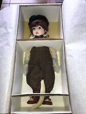 Vintage 1990s Coca-Cola Franklin Mint Heirloom Porcelain Doll