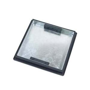 Clark Drain Recessed Manhole Cover with Frame Sealed and Locked T1G3
