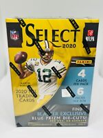 2020 Panini Select Football Blaster Box Target Blue Die-Cuts New Factory Sealed
