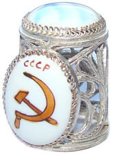 Dé à coudre de collection - Faucille et Marteau de URSS