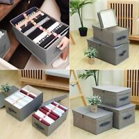 Folding Storage Bin Closet Toy Storage Box Container Organizer Home Cube Basket