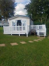 static Caravan to rent in looe bay holiday park Cornwall. 2017 luxury 6 berth