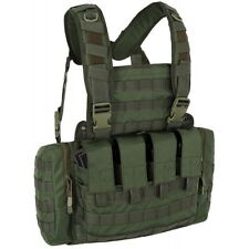 Russian Pouch mag chest rig vest bulletproof army molle airsoft olive green od
