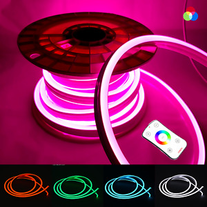RGB Neon Flex DC 24V IP68 Waterproof RGB LED Strip Neon Outdoor Underwater Use