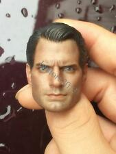 1:6 Model Toys Superman 2.0 Male Stars Actor Henry Cavill Headsculpt For HT Body