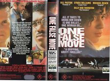 ONE FALSE MOVE - Bill Paxton -VHS - PAL -NEW -Never played! -Original Oz release