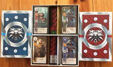 WITCHER 3 WILD HUNT GWENT CARDS ALL 4 SETS BLOOD AND WINE HEARTS OF STONE NEW