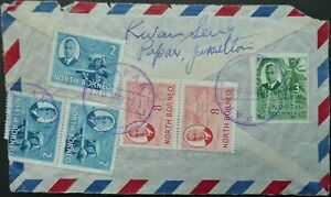 NORTH BORNEO 30 MAY 1951 COVER FRONT WITH TAPAR CANCELS - SEE!