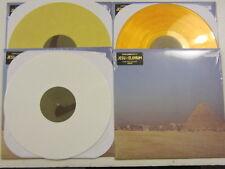 JESU / ELUVIUM 4  LP LOT GOLD/YELLOW/WHITE/BLACK  limited hydra head UNPLAYED