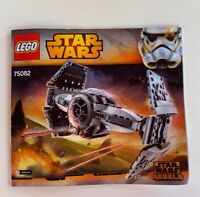 NEW INSTRUCTIONS ONLY LEGO TIE ADVANCED PROTOTYPE 75082 manual book from set
