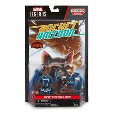 Marvel Legends 2 Pack Rocket & Groot Action Figures & Special Edition Comic