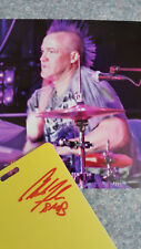 BMB AUTOGRAPH VIP PASS LUCKY CHUCKY FANSLAU FORMER DRUMMER OF BRET MICHAELS BAND