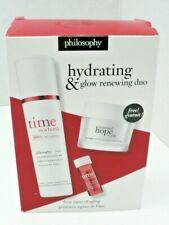 Philosophy Hydrating Glow Renewing Duo - Time in a Bottle and Renewed Hope