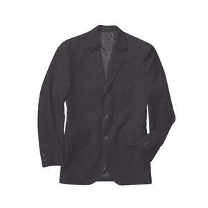 George Men's Suit Jacket, Black, 46L