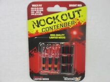 Clean-Shot Nock out Contender Illuminated Nocks Red multi fit 85-1084