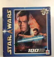 Star Wars MB Jigsaw Puzzle 100 Piece Collectable Vintage Complete