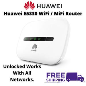 Huawei E5330 Mobile Broadband 3G WiFi MiFi Router Dongle Device SIMFree Unlocked