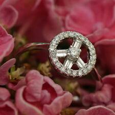 Diamant Brillant Ring 750er Gold Peace Zeichen 0.35 ct Schätzwert ca.1.277.-Euro