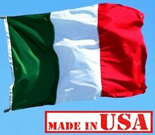 Us Flag Factory 3'x5' Italy Italian Flag (Sewn Stripes) Outdoor SolarMax Nylon -