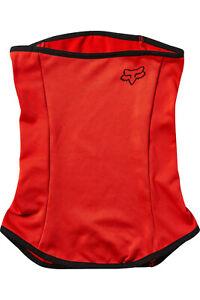 Fox Polartec Neck Gaiter Nasen-Mund-Maske Neck Warmer Thermal Red Onesize