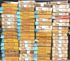 Vintage Pepsi Coca Cola Fresh 7 Up Wooden Crates *Buy All* Volume Discount