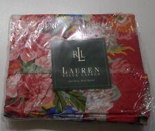 NEW Rare RALPH LAUREN Beachhouse Southampton Full Flat Sheet Roses Go W Melissa
