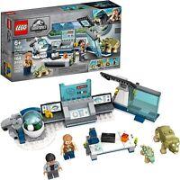 LEGO Jurassic World: Dr. Wu's Lab: Baby Dinosaurs Breakout (75939)