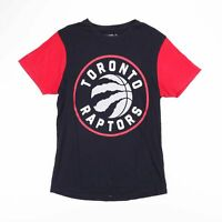 NBA TORONTO RAPTORS Black & Red T-Shirt Size Men's Medium
