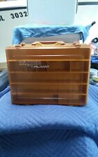 Vintage Plano Magnum 1152 tackle box. Double sided. In good shape.