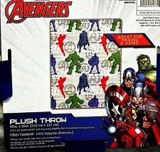 Marvel Avengers  40 X 50  Polyester Plush Throw