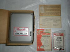 Dayton 24 Hour Time Switch Clock Motor 2E351 208 Volt NEW OLD STOCK