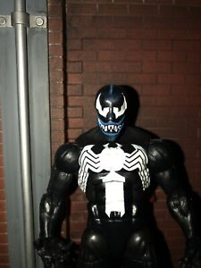 marvel legends custom Animated Series Venom Head Scultp Grin